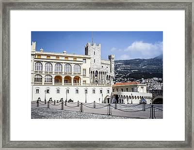 Monaco Palace Framed Print