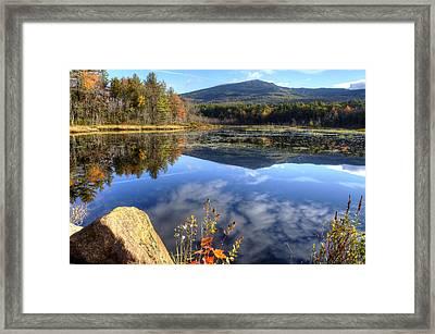 Monadnock Reflections Framed Print