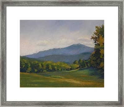 Monadnock Summer Framed Print