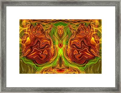 Monarch Butterfly Framed Print by Omaste Witkowski