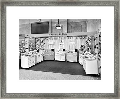 Monarch Electric Range Display Framed Print by Underwood Archives
