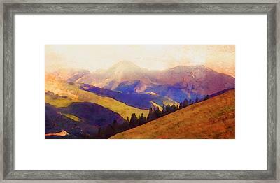 Monarch Pass Colorado Framed Print