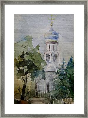 Monastery Framed Print by Khromykh Natalia