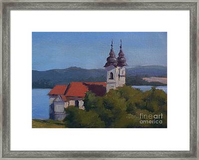 Monastery Of Tihany Framed Print