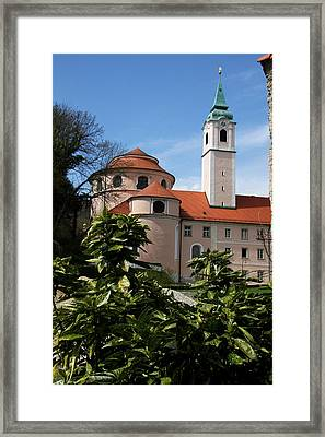 Monastery Weltenburg II Framed Print by Christiane Schulze Art And Photography