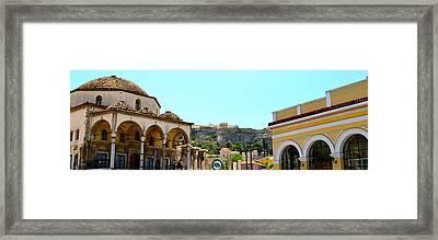 Monastiraki - Athens Framed Print by Corinne Rhode