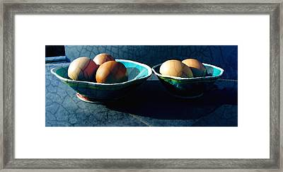 Monday Morning Blues Framed Print by Ann Powell
