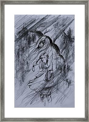 Monday Morning Rain Framed Print