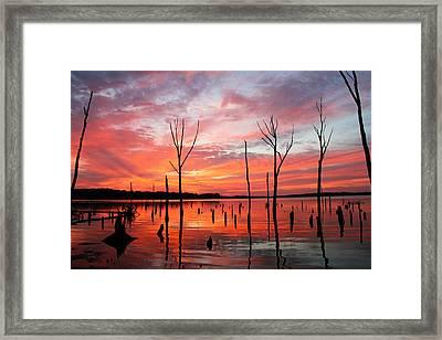 Monday Morning Framed Print by Roger Becker