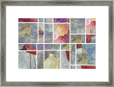 Mondrianity - 08a Framed Print by Variance Collections