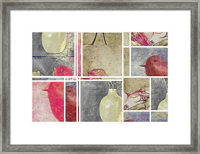 Mondrianity - Art 01 Framed Print by Variance Collections