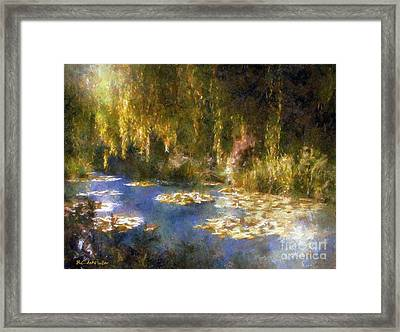 Monet After Midnight Framed Print
