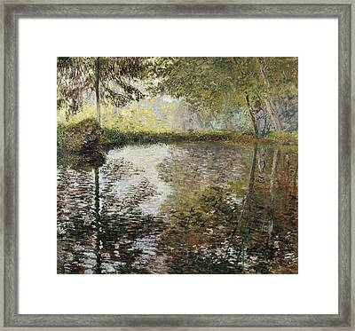 Monet, Claude 1840-1926. Pond Framed Print