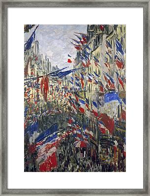 Monet: Montorgeuil, 1878 Framed Print by Granger