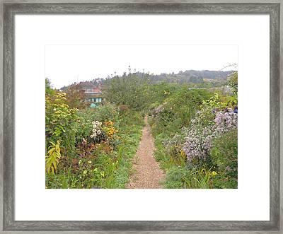 Monet's Garden 5 Framed Print