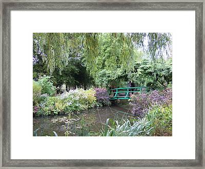 Monet's Japanese Bridge Framed Print