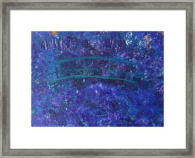 Monet's Place Framed Print by Kristine Bogdanovich