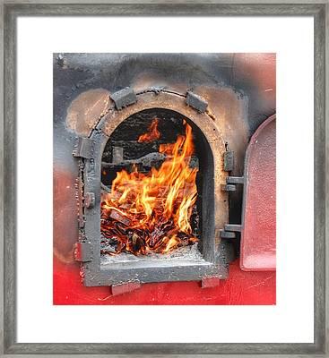 Money 2 Burn Framed Print