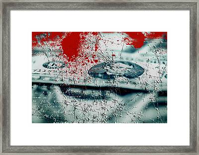 Money And Blood Framed Print