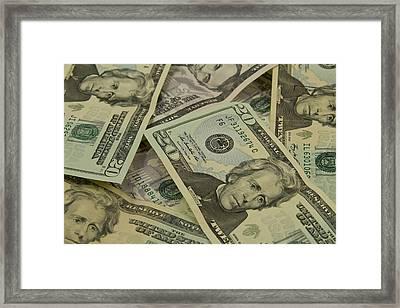 Money Framed Print by John Graham