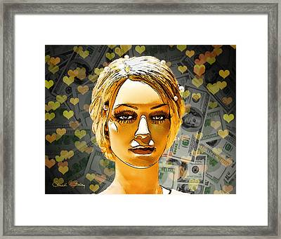 Money Love Framed Print by Chuck Staley