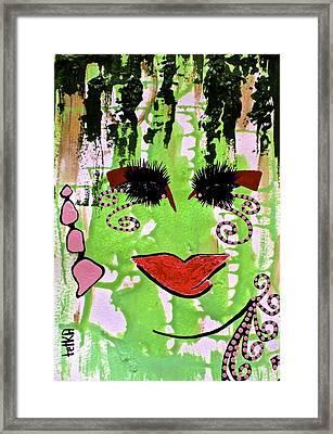 #money Showers Framed Print by Tetka Rhu
