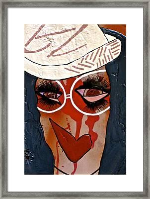 #money Redemption Framed Print by Tetka Rhu