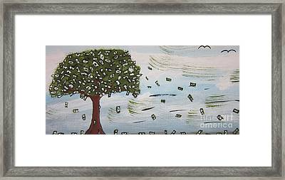 The Money Tree Framed Print by Jeffrey Koss