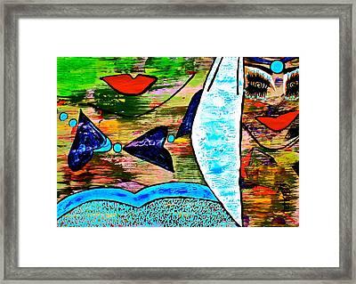 #money Winds Framed Print by Tetka Rhu