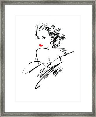Monique Variant 1 Framed Print by Giannelli