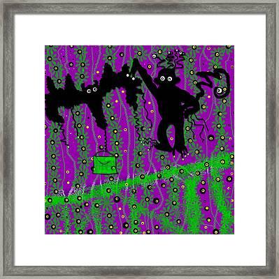 Monkey Airport Framed Print