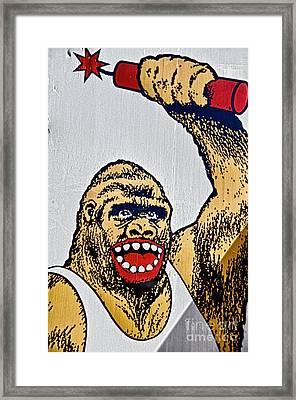 Monkey Around Framed Print by Ken Williams