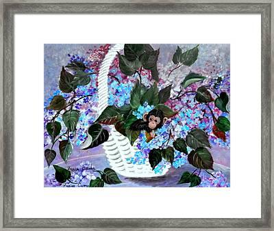 Monkey Busines Framed Print by Fram Cama