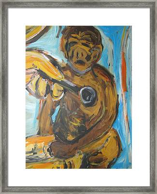 Monkey Doctor Framed Print by Patrick Humphreys