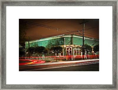 Monkey Hill Bar In Uptown New Orleans Framed Print
