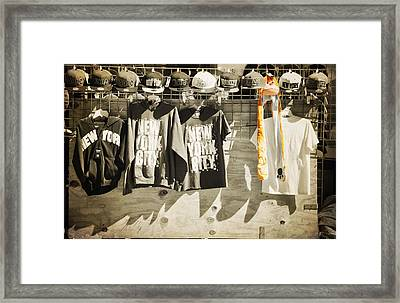 Monkey In The Middle  Framed Print