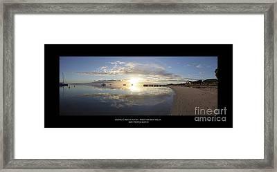 Monkey Mia Western Australia Framed Print by Diagnostic Photography