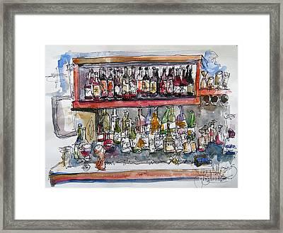 Monkeypod's Bar Framed Print by Jeffrey Williams