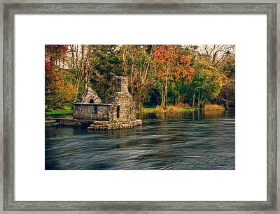 Monk's Fish House Framed Print