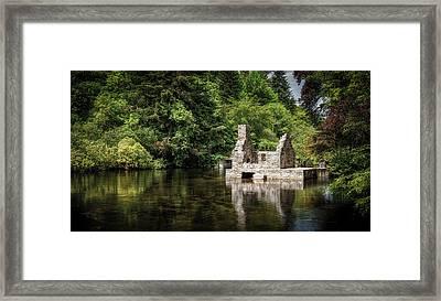 Monk's Fishing Hut Framed Print by Jen Morrison