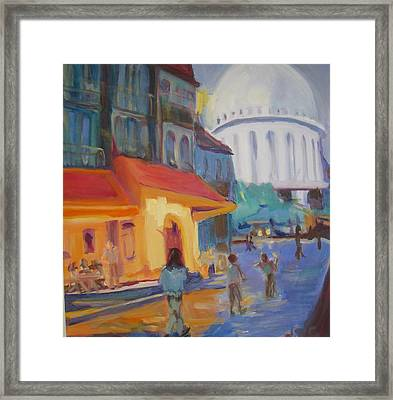 Monmartre Framed Print by Julie Todd-Cundiff