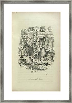 Monmouth Street Framed Print by British Library
