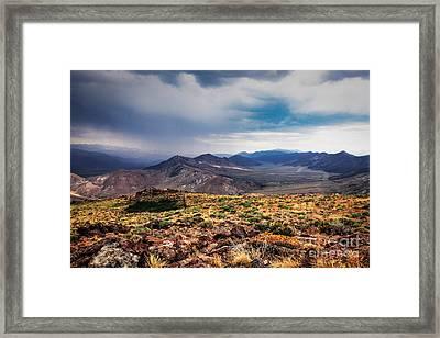 Mono County Framed Print by Webb Canepa
