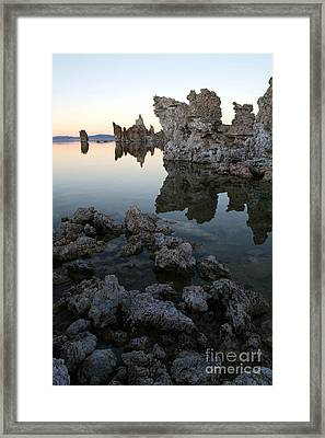 Mono Lake - 06 Framed Print