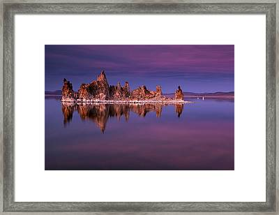 Mono Lake Evening Framed Print