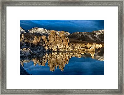 Mono Lake In March Framed Print