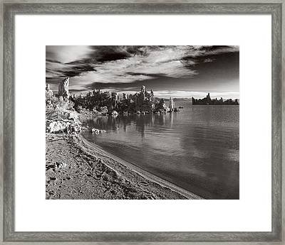 Mono Lake South Towers Framed Print by Jim Snyder