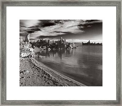 Mono Lake South Towers Framed Print