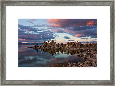 Mono Lake Framed Print
