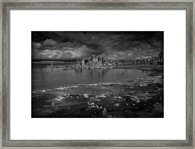 Mono Lake Tufa Framed Print